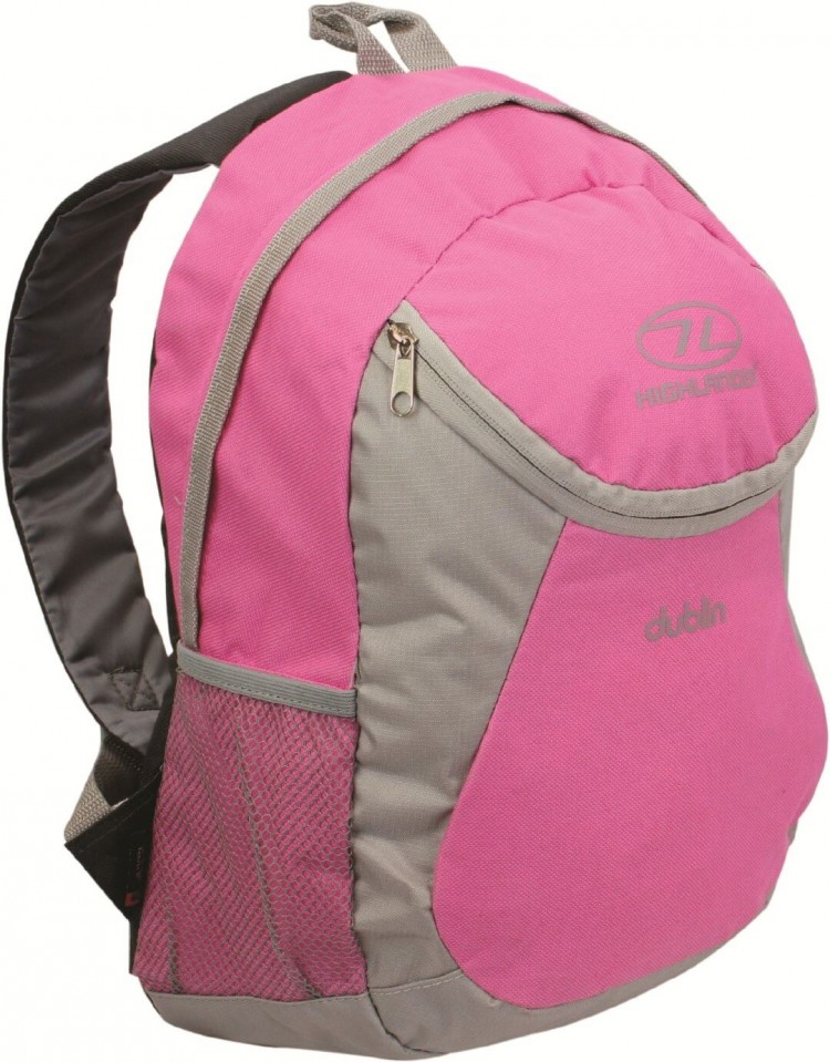 a85b25a27f6 Highlander Dublin roze rugzak